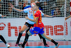15-12-2019 JAP: Final Netherlands - Spain, Kumamoto<br /> The Netherlands beat Spain in the final and take historic gold in Park Dome at 24th IHF Women's Handball World Championship / Alicia Fernandez Fraga #34 of Spain