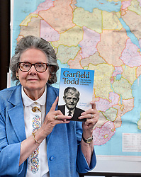 Author Susan Woodhouse launched her biography of former Rhodesian Prime Minister Garfield Todd. She was the secretary for and friend of the Southern African politician.<br /> <br /> &copy; Dave Johnston/ EEm