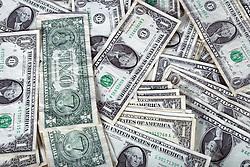 29 March 2014:   United States one dollar bill featuring George Washington