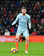 Jorginho (5) of Chelsea during the Premier League match between Bournemouth and Chelsea at the Vitality Stadium, Bournemouth, England on 30 January 2019.