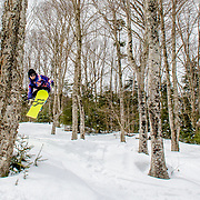 Perfect conditions for some airtime at Bretton Woods.
