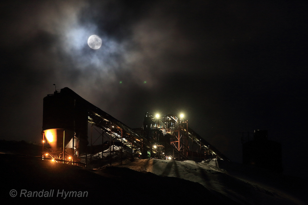 Industrial photography by Randall Hyman
