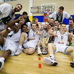 20120219: SLO, Basketball - 11th Spar Cup, Final match, KK Union Olimpija Ljubljana vs KK Krka