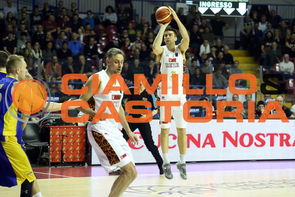 Jeff Viggiano<br /> Umana Reyer Venzia vs BK Venspils<br /> Basketball Champions League 2016/2017<br /> Venezia, 22/02/2017<br /> Foto Ciamillo-Castoria/A. Gilardi