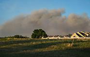 Wild Fire near Guthrie