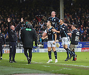 Greg Stewart goal celebration - Dundee United v Dundee, SPFL Premiership at Tannadice<br /> <br />  - &copy; David Young - www.davidyoungphoto.co.uk - email: davidyoungphoto@gmail.com