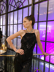 """Coco Rocha releases a photo on Twitter with the following caption: """"""""Beautiful night out with @boucheron 💎#26vendome"""""""". Photo Credit: Twitter *** No USA Distribution *** For Editorial Use Only *** Not to be Published in Books or Photo Books ***  Please note: Fees charged by the agency are for the agency's services only, and do not, nor are they intended to, convey to the user any ownership of Copyright or License in the material. The agency does not claim any ownership including but not limited to Copyright or License in the attached material. By publishing this material you expressly agree to indemnify and to hold the agency and its directors, shareholders and employees harmless from any loss, claims, damages, demands, expenses (including legal fees), or any causes of action or allegation against the agency arising out of or connected in any way with publication of the material."""