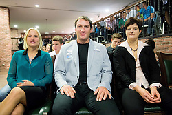 Marina Tomic, Primoz Kozmus and Martina Ratej during the Slovenia's Athlete of the year award ceremony by Slovenian Athletics Federation AZS, on November 15, 2014 in GH Primus, Ptuj, Slovenia. Photo by Vid Ponikvar / Sportida