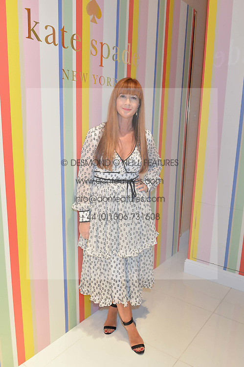 DEBORAH LLOYD at the opening party of the new Kate Spade New York store at 182 Regent Street, London on 21st April 2016.