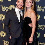 NLD/Amsterdam/20181011 - Televizier Gala 2018, Juvat Westendorp en partner Kimberly Maasdamme
