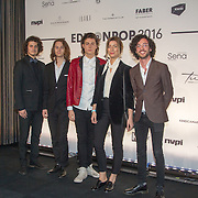 NLD/Amsterdam/20160321 - Edison Pop Awards 2016, Indiepopband Ronde
