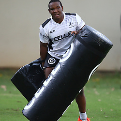 DURBAN, SOUTH AFRICA, 17 November 2015 - Mzamo Majola during The Pre-season training squad and coaching team announcement at Growthpoint Kings Park in Durban, South Africa. (Photo by Steve Haag)<br /> images for social media must have consent from Steve Haag