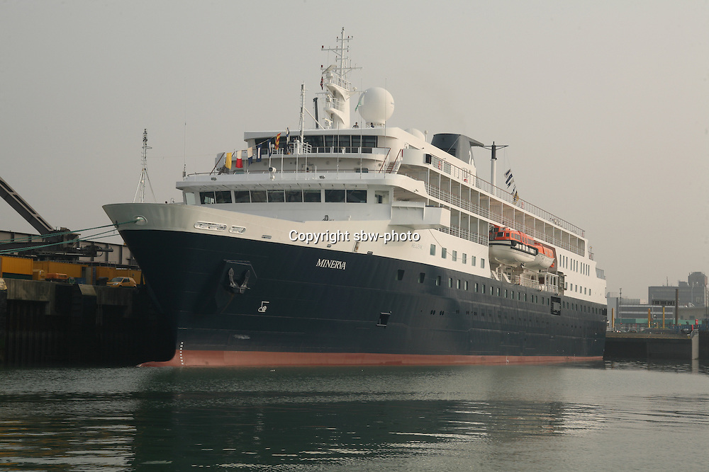 Swan Hellenic's Minerva arrived in it's homeport of Portsmouth today following it's multi-million pound upgrade. .