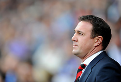 Cardiff City Manager, Malky Mackay - Photo mandatory by-line: Alex James/JMP - Tel: Mobile: 07966 386802 05/10/2013 - SPORT - FOOTBALL - Cardiff City Stadium - Cardiff - Cardiff City V Newcastle United - Premiership