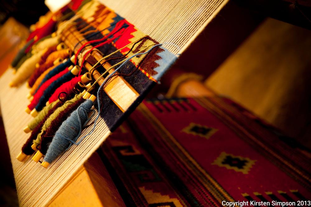 Weaving in Teotitlan Del Valle