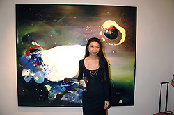 HSIAO-MEI LIN at a private view of her paintings held at the Adam gallery, 24 Cork Street, London on 28th April 2008.<br />