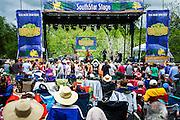 Old Settler's Bluegrass Festival, Austin, Texas, April 18, 2015.