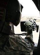 UH-60 Door Gunner over Iraq.  In Feb 2008, as an Active Duty U.S. Air Force Security Forces officer, I deployed to the Multinational Corps-Iraq (MNC-I), Camp Victory, Iraq for a period of 6 months.  These images are a collection of my friends, the job and of Iraq.  Thanks for looking