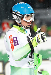 27.01.2015, Planai, Schladming, AUT, FIS Skiweltcup Alpin, Schladming, 2. Lauf, im Bild Matic Skube (SLO) // Matic Skube (SLO) during the second run of the men's slalom of Schladming FIS Ski Alpine World Cup at the Planai Course in Schladming, Austria on 2015/01/27, EXPA Pictures © 2015, PhotoCredit: EXPA/ Erwin Scheriau