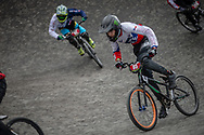 Cruiser - 15 & 16 Men #85 (SALVATIERRA Benjamin) CHI at the 2018 UCI BMX World Championships in Baku, Azerbaijan.