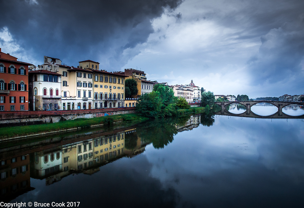 View of the Arno River 3