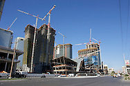UNITED STATES-LAS VEGAS- Building a new hotel and casino. PHOTO by Gerrit de Heus. VERENIGDE STATEN-LAS VEGAS-Bouw van een nieuw hotel en casino aan Las Vegas Boulevard (The Strip) PHOTO COPYRIGHT GERRIT DE HEUS