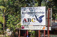 The Angkor Butterfly Center (also known as the Banteay Srey Butterfly Centre) outside of Siem Reap is a popular destination for tourists in Cambodia.