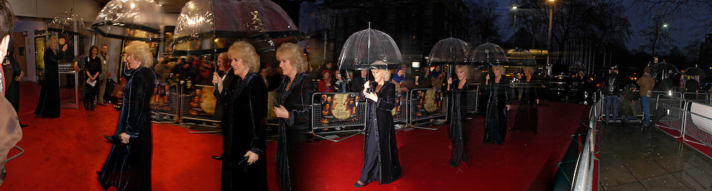 The Duchess of Cornwall, Royal Charity premiere of 'These Foolish things' in aid of the National Osteoporosis Society. Kensington Odeon and afterwards at Claridges. 8 March 2006. ONE TIME USE ONLY - DO NOT ARCHIVE  © Copyright Photograph by Dafydd Jones 66 Stockwell Park Rd. London SW9 0DA Tel 020 7733 0108 www.dafjones.com