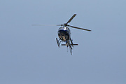 Israeli Police helicopter in flight
