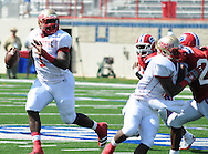 Lafayette High's Jeremy Liggins (1) vs. Evangel Christian in Shreveport, La.  on Saturday, September 10, 2011. Lafayette High won 35-34.