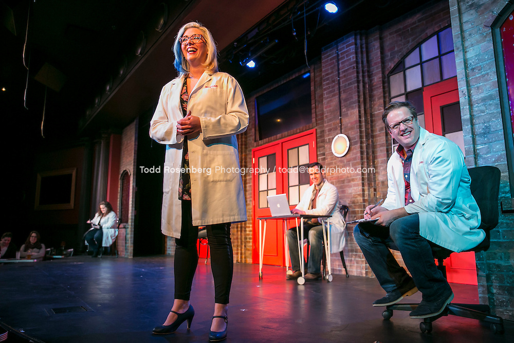 2/18/16 8:44:16 PM -- The Second City Presents<br /> #DateMe an OK Cupid Experiment<br /> <br /> &copy; Todd Rosenberg Photography 2016
