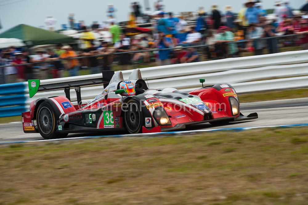 #38 Performance Tech Motorsports ORECA FLM09: James French, Kyle Marcelli, Josh Norman