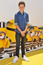 """Jacob Buster arrives at the """"Despicable Me 3"""" Los Angeles Premiere held at the Shrine Auditorium in Los Angeles, CA on Saturday, June 24, 2017.  (Photo By Sthanlee B. Mirador) *** Please Use Credit from Credit Field ***"""