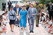 Meghan Markle & Prince Harry Depart Tonga