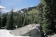 Mountains at Revette Lake, Thompson Pass, on the Idaho Montana Boarder