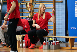 Miheal Planinsec, physiotherapist of NKBM, during volleyball match between Calcit Ljubljana and Nova KB Maribor in Final of Slovenian Cup 2015/16, on January 9, 2016 in Kamnik, Slovenia. Photo by Matic Klansek Velej/ Sportida