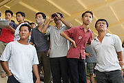 Race goers at the Saigon Race Track, Ho Chi Minh City, Vietnam