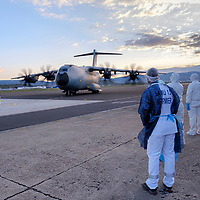 1st medical flight for the A400M