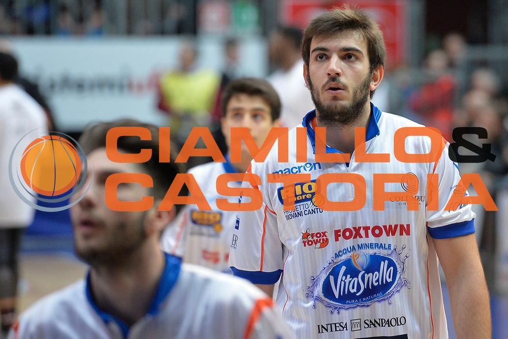 DESCRIZIONE : Beko Legabasket Serie A 2015- 2016 Acqua Vitasnella Cantu' Pasta Reggia Juve Caserta<br /> GIOCATORE : Amedeo Tessitori<br /> CATEGORIA : Riscaldamento ritratto<br /> SQUADRA : Acqua Vitasnella Cantu'<br /> EVENTO : Beko Legabasket Serie A 2015-2016 <br /> GARA : Acqua Vitasnella Cantu' Pasta Reggia Juve<br /> DATA : 13/03/2016 <br /> SPORT : Pallacanestro <br /> AUTORE : Agenzia Ciamillo-Castoria/I.Mancini