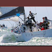 Round the island Race, The Needles, Isle of Wight, canvas, print,