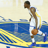 04 June 2017: Golden State Warriors forward Kevin Durant (35) is seen during the Golden State Warriors 132-113 victory over the Cleveland Cavaliers, in game 2 of the 2017 NBA Finals, at the Oracle Arena, Oakland, California, USA.