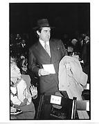 Peter Brant at Ralph Lauren show. NY. 1994 approx. © Copyright Photograph by Dafydd Jones 66 Stockwell Park Rd. London SW9 0DA Tel 020 7733 0108 www.dafjones.com