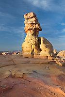 Sandstone rock formation, South Coyote Buttes, Vermilion Cliffs Wilderness Utah