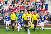 ALKMAAR - 28-08-2016, AZ - NEC, AFAS Stadion, 2-0, spieren voor spieren