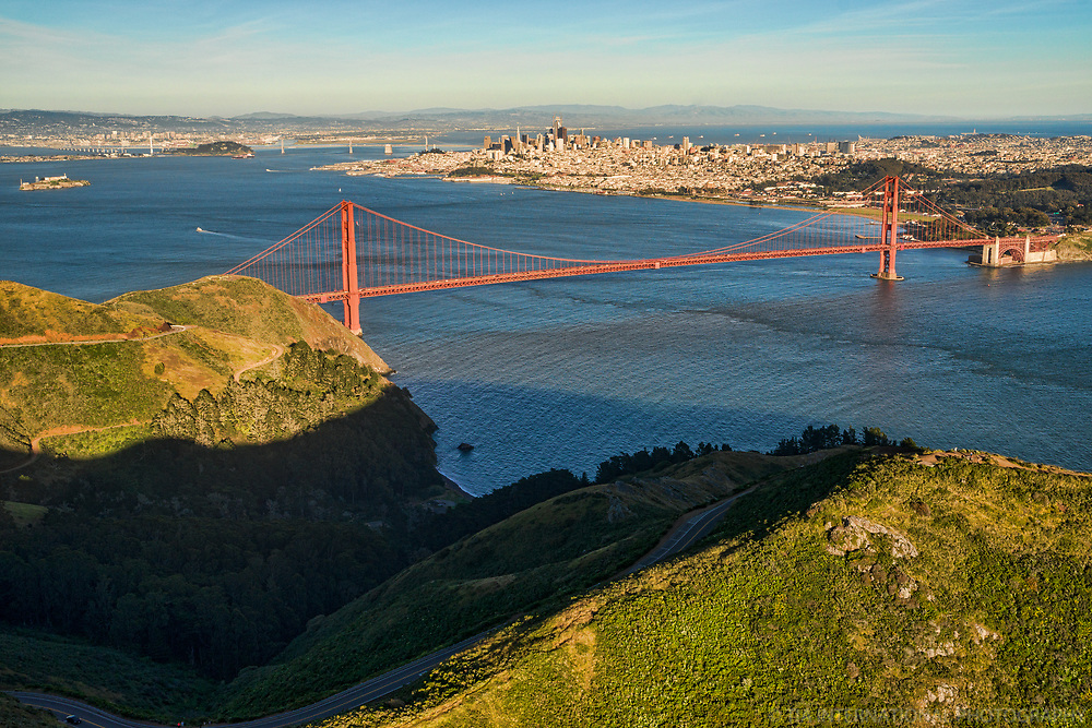City of San Francisco from Marin Headlands II