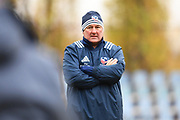USA coach Gary Gold looks on during warm ups during the November Test match between Romania and USA at Ghencea Stadium, Bucharest, Romania on 17 November 2018.