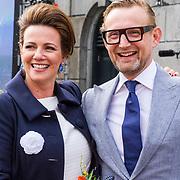 NLD/Groningen/20180427 - Koningsdag Groningen 2018, Prins Bernhard Jr. en partner Prinses Annet Sekreve
