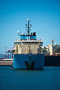 Maersk Attender arriving at the Port in Cape Town