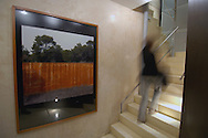 Stairs, Maddox #5 Hotel, 5 Maddox Street, Mayfair, London, Great Britain, UK