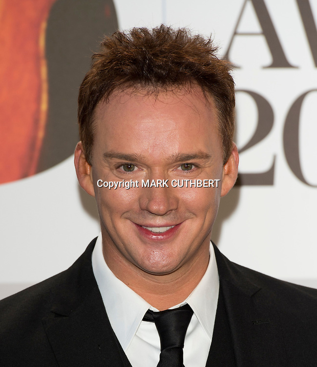 Russell Watson arriving at the 2012 Classic Brit Awards at the Royal Albert Hall in London.
